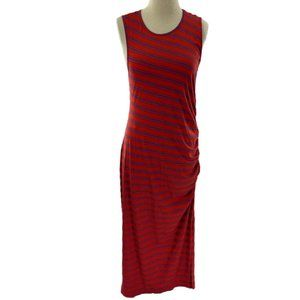 BUFFALO DAVID BITTON Tropicana Red/Blue Knit Dress
